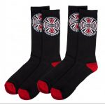 Independent Socks Truck Co. (x2 Pairs) Black OSFA ADULT 17.38